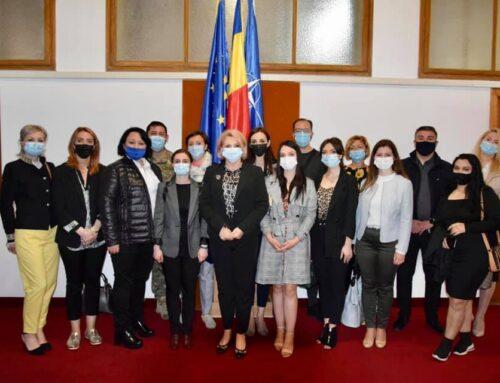 13 mai 2021: Vizită de studiu în Regiunea București – Ilfov: Universitatea Națională de Apărare Carol I